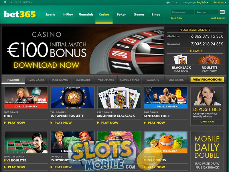 bet365 casino mobile