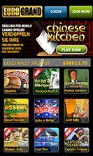 EuroGrand Casino Mobile