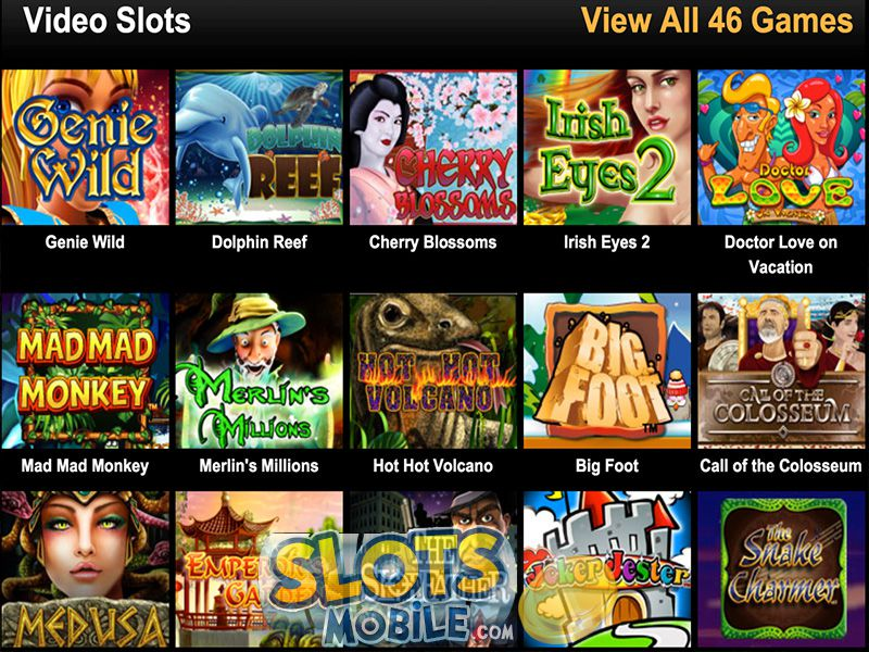 online mobile casino videoslots